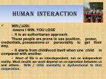 human interaction1