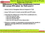 differences in non firm curtailments current idc versus pfv pilot for tlr level 3
