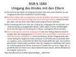 bgb 1684 umgang des kindes mit den eltern
