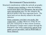 environment characteristics4