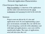 network application characteristics7