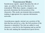 transmission modes1