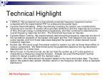 technical highlight