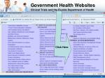 government health websites