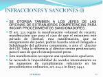 infracciones y sanciones i