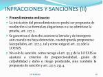 infracciones y sanciones ii