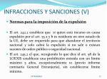 infracciones y sanciones v