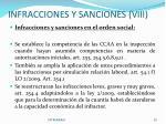 infracciones y sanciones viii1