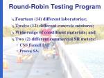 round robin testing program1