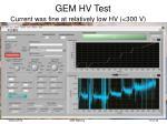 gem hv test1