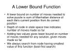 a lower bound function
