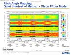 pitch angle mapping quiet time test of method olson pfitzer model