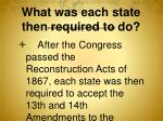 what was each state then required to do