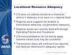 locational resource adequacy