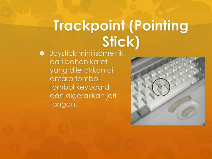 Trackpoint (Pointing Stick)