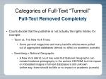 categories of full text turmoil2