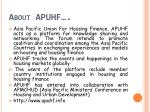 about apuhf
