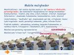 mobile muligheder