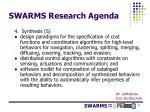 swarms research agenda5