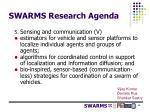 swarms research agenda6