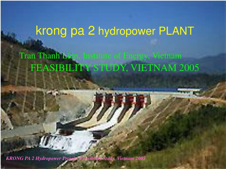 krong pa 2 hydropower plant n.