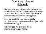 operatory relacyjne dzielenie1