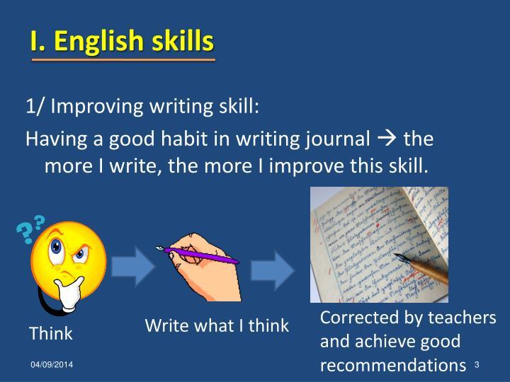 I english skills