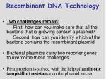 recombinant dna technology1