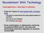 recombinant dna technology4