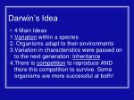 darwin s idea