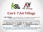 cos l art village