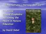 the nature literacy series