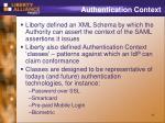 authentication context1
