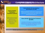 complete liberty architecture