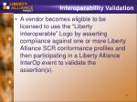interoperability validation