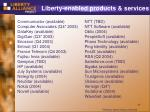 liberty enabled products services