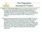 the regulatory assistance project