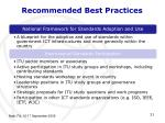 recommended best practices2