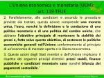 l unione economica e monetaria uem art 119 tfue1