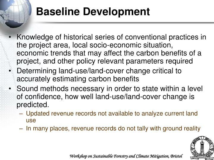 Baseline Development