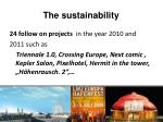 the sustainability1