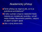 akademick p stup