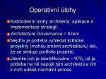 operativn lohy