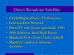 direct broadcast satellite1