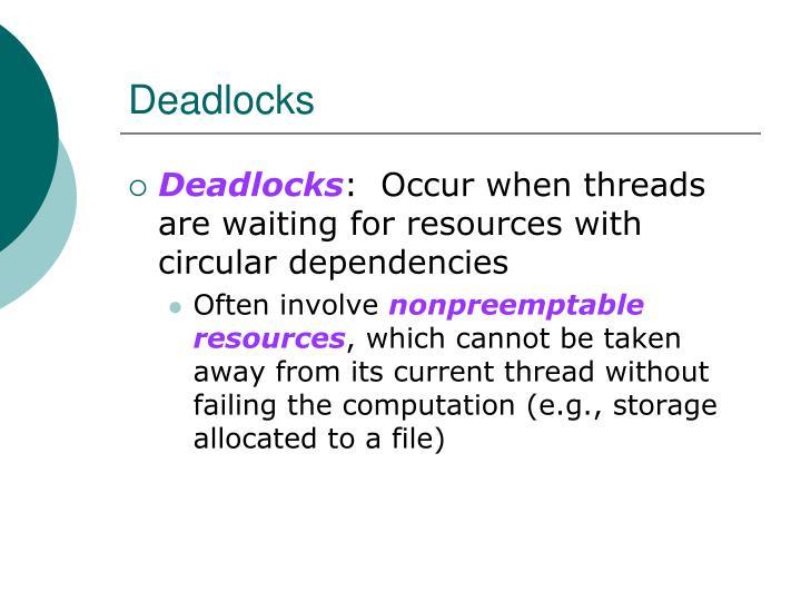 Deadlocks1