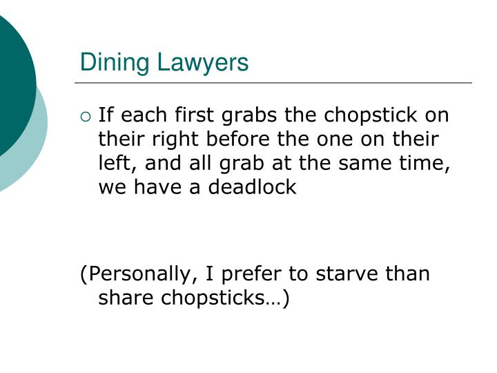 Dining Lawyers