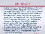 lifo reserve1
