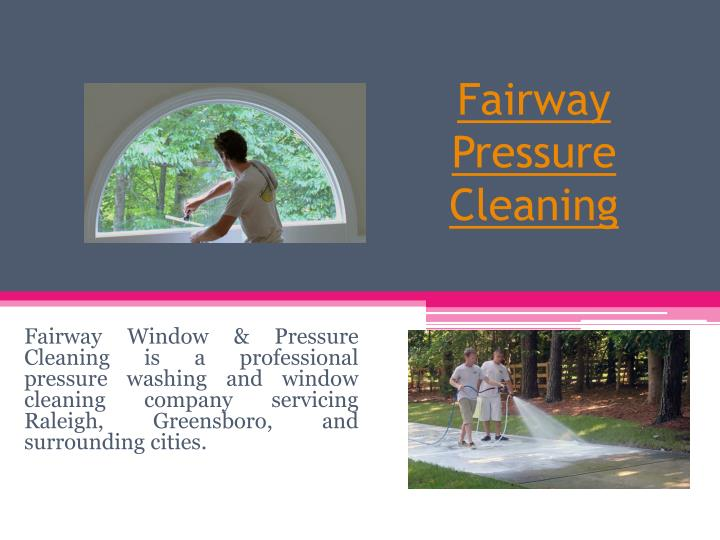 fairway pressure cleaning n.