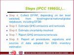 steps ipcc 1996gl