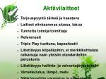 aktiivilaitteet